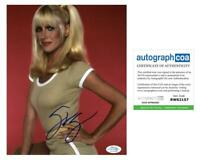 "Suzanne Somers ""Three's Company"" AUTOGRAPH Signed 8x10 Photo D ACOA Witness ITP"