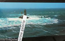 Phare breton la vieille déco mer Bretagne poster photo couleurs panoramique 67cm