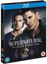 Supernatural Complete Series 7 Blu Ray Season New Sealed Uk Original 7Th Seventh