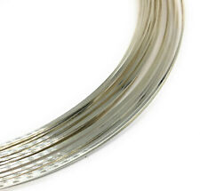 sterling silver 925 square jewelry wire 22 gauge half hard