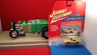 JOHNNY LIGHTNING 1970 CORVETTE CLASSIC CHEVY SERIES~2002 SUPER HOT~THE HOTTEST!~