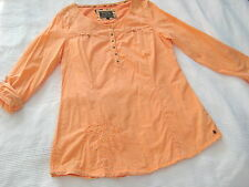 SOCCX Long Bluse Tunika lachs orange Gr. L 40 wie NEU