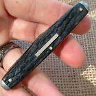Vintage Antique JA Henckels Germany Stag 4 Blade Pen Fob Folding Pocket Knife