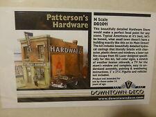 "Downtown Deco N #2011 Patterson's Hardware -- Kit - 3 x 1-3/4"" 7.6 x 4.5cm"