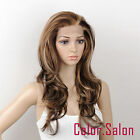 Synthetic Lace Front Full Wigs Multi-Color Glueless Wavy 92#6/12/24