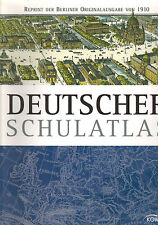 Pohle, Brust, Deutscher Schulatlas 1910, Atlas Berlin Schulen, Kaiserreich, 2012