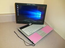 SUPER! LIGHT PINK CONVERTIBLE LAPTOP&TABLET WIN10 DUAL CORE 2.4G,3GB,160G,DVDRW