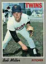 1970 TOPPS BASEBALL CARD OF BOB MILLER  OF THE TWINS  CARD   #47