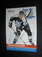 2000-01 Topps Heritage #4 Vincent Lecavalier Tampa Bay Lightning NrMt