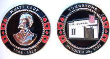 Wyatt Earp OK O.K. Corral Heavy Poker Card Guard Hand Protector Metal Coin NEW