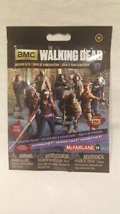 2015 MCFARLANE AMC THE WALKING DEAD BUILDING SETS ( HUMANS ) SERIES 3 RARE NEW