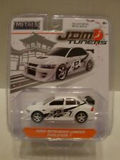 Jada JDM Tuners 2002 Mitsubishi Lancer Evolution 7 Metals Diecast C27-223