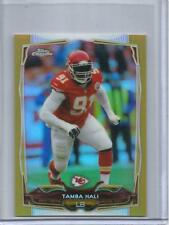 Tamba Hali 2014 Topps Chrome Mini Gold Refractor #09/10