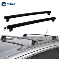 Roof Rack Rail Cross Bar Cargo Luggage Carrier For 2011-2019 Jeep Grand Cherokee