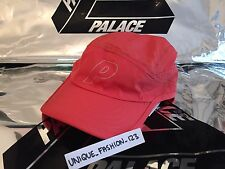 PALACE SKATEBOARDS RUNNING P 6 PANAL CAMP CAP HAT CORAL PEACH POLYESTER SS16