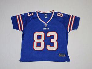 Buffalo Bills Andre Reed Reebok On Field NFL Football Jersey RARE Women's LARGE