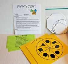 Geo Pet Math Geometry Shapes Game Activity Grades 2-5 New