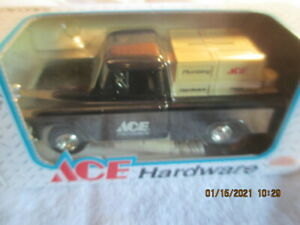 ERTL ACE HARDWARE 1955 CHEVY CAMEO PICKUP BANK Die-Cast Metal NEW Old Stock