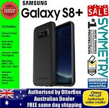 Samsung Galaxy S8+ OtterBox Otter Box Symmetry Heavy Duty Tough Black Case Cover