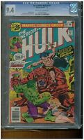 INCREDIBLE HULK #201 CGC 9.4  NEAR MINT OFF WHITE TO WHITE PAGES 1977 MARVEL
