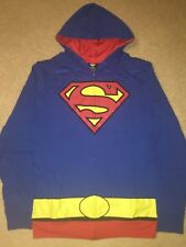 Superman JUSTICE LEAGUE movie MEN'S New COSTUME HOODIE Jacket coat Sweat SHIRT