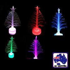 10PCS Mini Colorful Christmas Tree Lights Table LED Decor Xmas Gift GHGLI7778x10