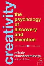 Creativity : Flow and the Psychology of Discovery and Invention-Mihaly Csikszent