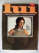 Magazine LUI  n° 48 de décembre 1967 avec poster