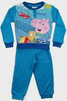 BOYS GIRLS PEPPA PIG GEORGE PYJAMAS NIGHTWEAR PJ'S AGE 2 3 4 5 6 BNWT FREE P&P