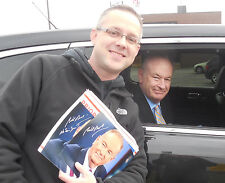 BILL O'REILLY SIGNED 8X10 W/ PROOF THE OREILLY FACTOR - FOX NEWS - NO SPIN ZONE