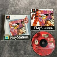 Street Fighter Alpha 3 PS1 PlayStation 1 PAL Game Complete Capcom Fighter Rare