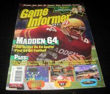 Vintage Game Informer Magazine Nintendo PS Nes Sega video games 1997 issue 54