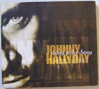 JOHNNY HALLYDAY SANG POUR SANG  CD SINGLE DIGIPACK
