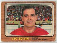 1966-67 Topps Hockey #50 Leo Boivin F-G Condition (2020-03)