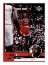1999-00 Upper Deck Tribute To Michael Jordan #30 Chicago Bulls HOF
