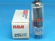 RCA 25EH5 VACUUM TUBE SINGLE 1 PCS ABSOLUTELY NOS NIB
