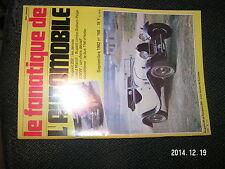 "** Fanatique de l""Automobile n°168 Peugeot 203 Bus TN6 BMW 303 Bricklin Lombard"