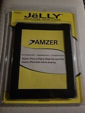 Amzer jelly silicone skin case Apple iPad 2, 3, 4