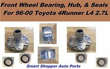 Front Wheel Bearing, Hub, & Seals Fit For 1996 -2000 Toyota 4 Runner L4 4WD-Pair