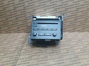2011-2012 LEXUS CT200H Audio Equipment Radio Receiver P10041 Face ID
