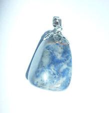 cristalloterapia PENDENTE LAPISLAZZULO pietra NATURALE GOCCIA ciondolo amuleto