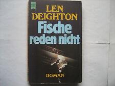 """Len Deighton, """"Fische reden nicht"""", Roman"""