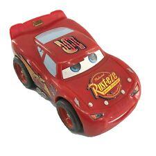 Disney Pixar Cars Lightning Mcqueen 5 Inch Talking & Reving Engine Mattel -l