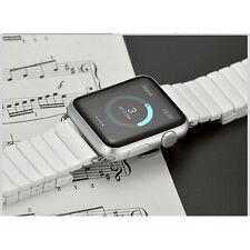 White Ceramic Bracelet Butterfly Watch Strap For Apple Watch Series 1 & 2 42mm