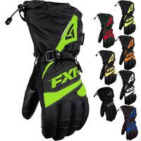 FXR Racing Fuel Black Mens Snowboard Skiing Snowmobile Gloves