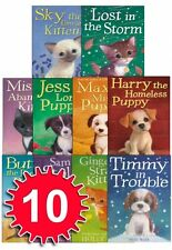 Holly Webb Animal Stories Puppy and Kitten Rescue Series 10 Books Set 1 to 10