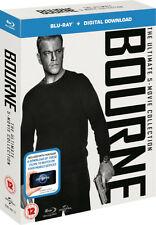 Jason Bourne - The Ultimate 5-Movie Collection (Blu-ray) *BRAND NEW*
