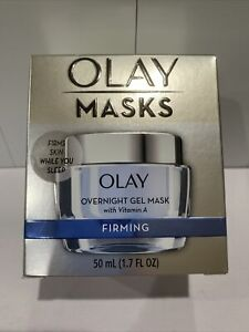 Olay Firming Overnight Gel Face Mask with Vitamin A, 1.7 OZ UNBOXED