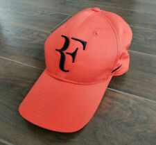 Nike RF Roger Federer Legacy 91 Hybrid Orange/Black IW Miami 15 Tennis Hat Cap