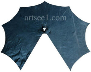 Your HomeMade Batman Costume Suit Can Use New High Quality Huge Latex Cape
